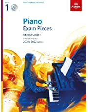 Piano Exam Pieces 2021 & 2022 - Grade 1 + CD