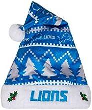 FOCO NFL Plush Holiday Family Santa Hat Cap
