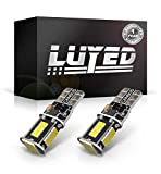 LUYED 2 X 500 Lumens Extremely Bright 3020 18-EX Chipsets 906 912 920 921 T15 Led Bulbs Used For Truck 3rd Brake Lamp Cargo Lights,Xenon White