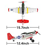 VOLANTEXRC 4-CH RC Airplane with Aileron Remote