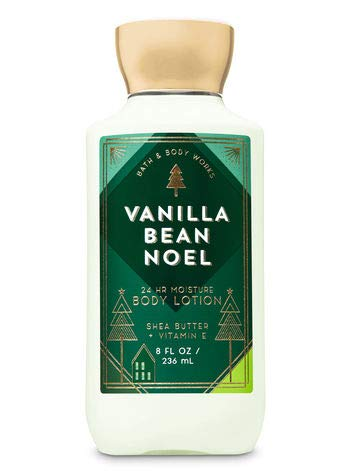 Bath Body Works 3 Vanilla Bean Noel Shea & Vitamin E Body Lo