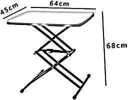 S&RL Mesa Plegable Multifuncional/Ajuste de Altura/Mesa para ...