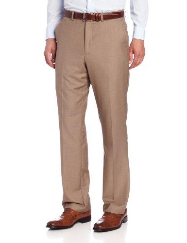 Perry Ellis Men's Solid Pant, Chinchilla, 30/32