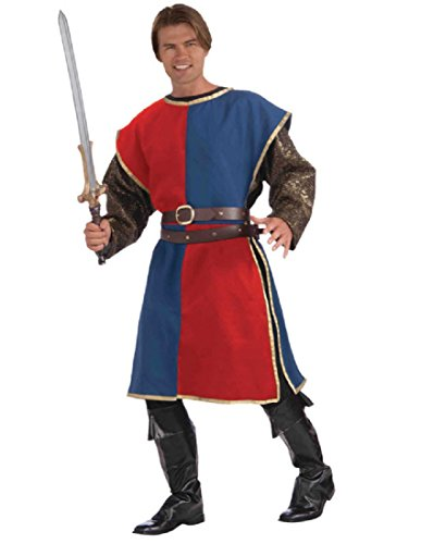 Medieval Tabard Costume - Standard - Chest Size up to 42 (Lady Knight Costume)