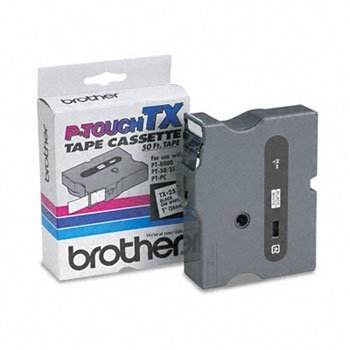BRTTX2511 - Brother TX2511 Laminated Tape Cartridge ()
