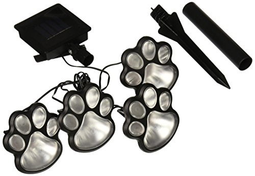 jb7356 solar paw print lights