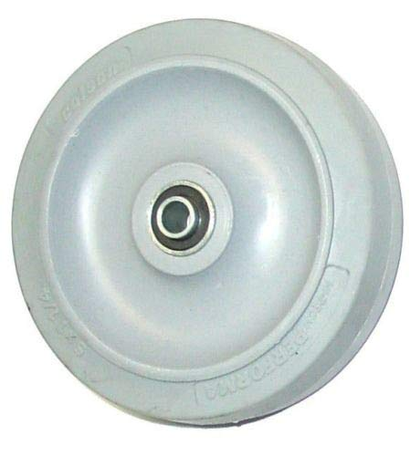 """(One) Colson 5"""" x 1-1/4"""" Soft Rubber Wheel with"""