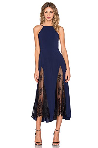 Denovelty Womens Halter Backless Evening