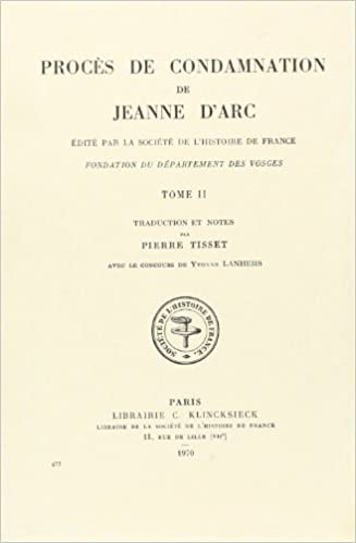 Livre gratuits Proces De Condamnation De Jeanne D'arc: Traduction Et Notes epub pdf
