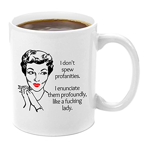 I Don't Spew Profanities I Enunciate Them | Premium Coffee M