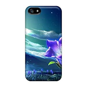 Cute Appearance Cover/tpu CWFcMNu2152XEitk Flower Case For Iphone 5/5s