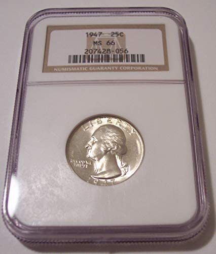 1947 Washington Quarter MS66 NGC