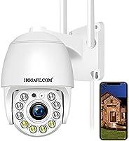 Security Camera Wireless Outdoor, HOSAFE WiFi Camera Surveillance for Home Security Camera System, 2-Way Audio