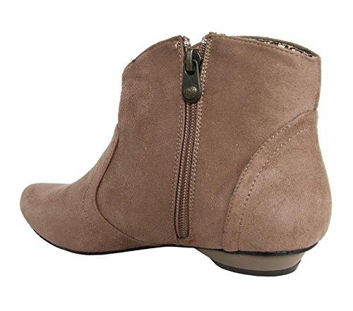 Stiefel für Damen MTNG 54900 ANTE W12 TAUPE