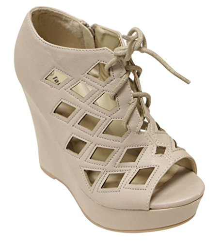 Top Moda platform square sandals product image