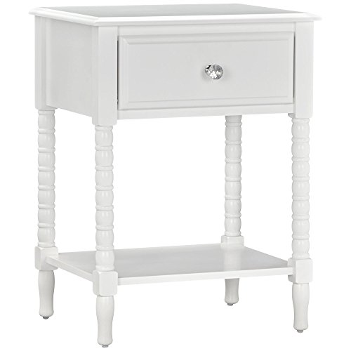 Little Seeds Rowan Valley Linden Nightstand, White by Little Seeds