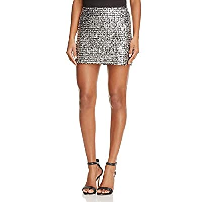 Bailey 44 Womens Metallic Textured Mini Skirt