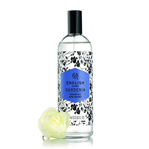 The Body Shop English Dawn Gardenia Fragrance Mist, 3.3 Fl Oz (Vegan)