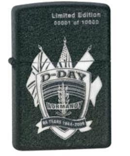 Image Unavailable Not Available For Colour Zippo Lighter D Day 65th Anniversary Limited Edition