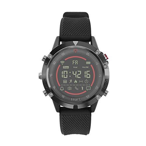 XANES IT152 IP67 Waterproof Sports Smart Watch Pedometer Sleep Monitor Fitness Smart Bracelet - Silver