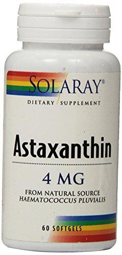 Solaray Astaxanthin 4 mg - 60 softgels by Solaray