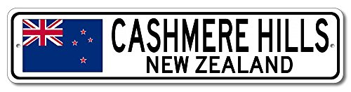 The Lizton Sign Shop Cashmere Hills, New Zealand Aluminum New Zealanders, Kiwi Flag Sign, New Zealand Custom Flag Sign - ()