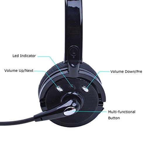 dd97bb286ea Wireless Headset with Mic,Willful M10B Wireless Headphones - Import It All