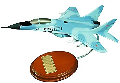 Mastercraft Collection Mig-29 Fulcrum Soviet Union Russia Air Force Fighter Jet Model Scale:1/57