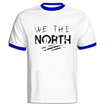 Men's Raptors Basketball WE THE NORTH Hit Color T-shirt RoyalBlue XL