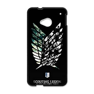 Happy Attack on Titan Cell Phone Case for HTC One M7