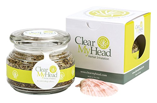 CMH (Clear my Head) Herbal Inhalation For cold and allergy sufferers by Clear my Head