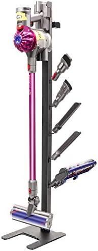 BRIGHTSHOW Stable Metal Storage Bracket Stand Holder for Dyson Handheld Cleaner V11 Animal v10 Absolute V8 Energy V7 V6 Cordless Stick Vacuum Cleaners with Charger Holder