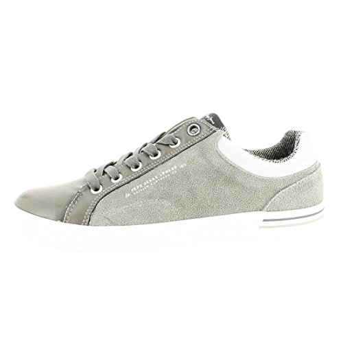 Gris North Jeans Sneakers Mix Pepe Homme Basses Dapple RZCqnxz