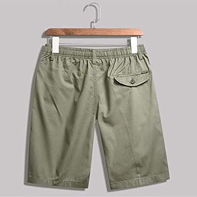 Shorts for Men, F_Gotal Men's Casual Stripe Zipper Pocket Elastic Casual Cotton Sports Shorts Jogger Sweatpants at  Men's Clothing store
