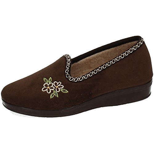 Pour Chapines Femme Chaussons Chapines Chaussons Marron Pour Marron Pour Femme Chaussons Chapines wqnZfafxS4