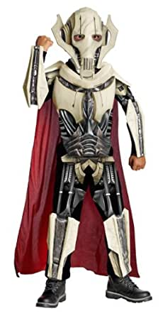 Disfraces 211416 Tama-o Star Wars General Grievous Deluxe Costume Ni-o: Peque-o