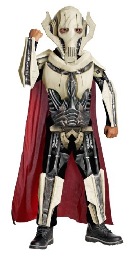[Star Wars Deluxe General Grievous Costume - One Color - Small] (Alien Dress Up Ideas For Kids)