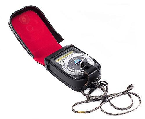 Classic Gossen Luna-Pro Light Meter Black Model in original leather case, Made In ()