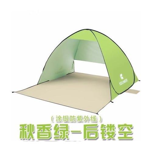 zhudj Plage schattierung Tente, Outdoor rapide ouverture automatique,  protection solaire Pêche Tente, simple 8a1d0ced03e3
