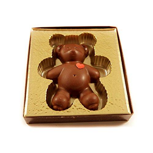Miami Beach Chocolates Vegan Love Teddy Bear Heart With Gift Box Fresh Made To Order Kosher