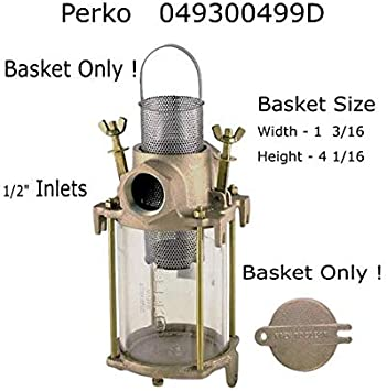 Perko  304  Stainless  Steel  Strainer  Basket  Only  049300599D