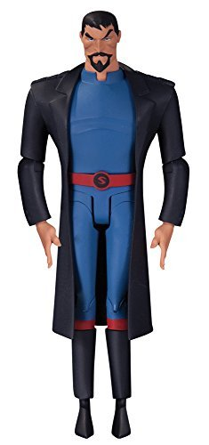 "[DC action figure ""Justice League Animated"" # 02 Superman (Gods and Monsters version) 6 inches plastic painted action figure"