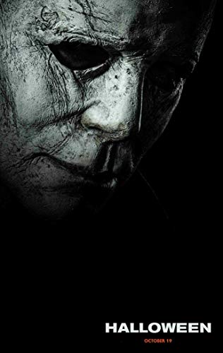 KPSheng Halloween Poster Movie Promo 36 x 24 inches 2018 Mask]()