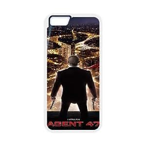 Hitman Agente 47 alta resolución Cartel iPhone 6S 4.7 pulgadas del teléfono celular funda blanca del teléfono celular Funda Cubierta EEECBCAAJ79258