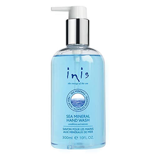 Inis the Energy of The Sea Mineral Hand Wash Liquid Soap, 10 Fluid Ounce (Soap Iris Dispenser)