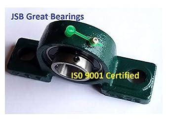 2 Pack 1-3//16 UCP206-19 Premium Quality Self-Align Pillow Block Bearing