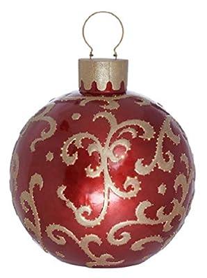 Kringle~Express Indoor Outdoor 29 inch Illuminated Fiber Optic Ornament