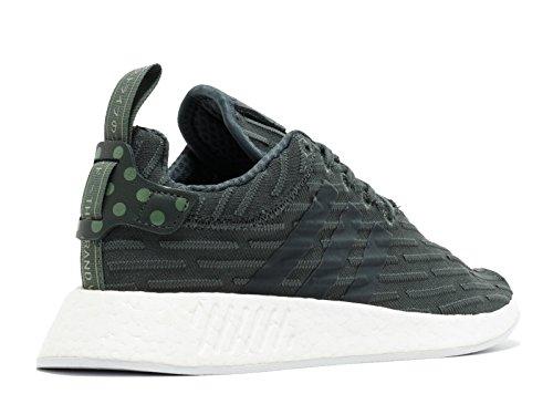 Les Femmes Adidas Ba7261 Nmd_r2 W Blanc Vert