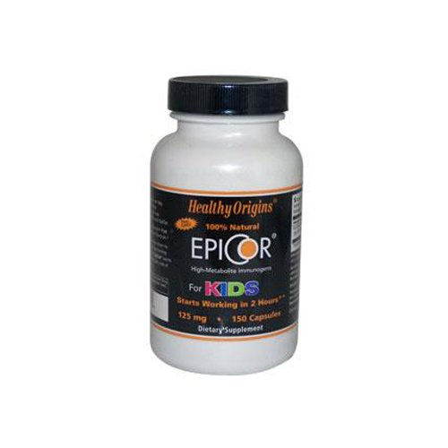 Healthy Origins EpiCor For Kids - 125 mg - 150 Capsules Toys Baby Kids - Capsules 125 Mg 150