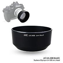 JJC Black Bayonet Reversible Lens Hood Shade for Olympus M.Zuiko Digital 45mm 1:1.8, Replaces Olympus LH-40B Lens Hood